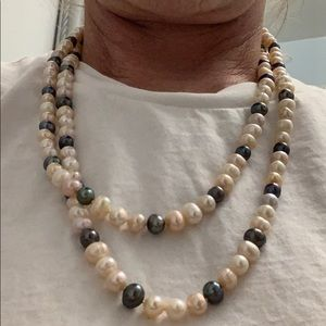 No Boundaries Jewelry - Necklace real pearl
